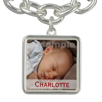 Personalized Photo DIY Make Your Own Charm Bracelet