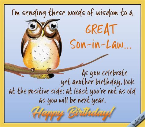 The Wise Owl. Free Extended Family eCards, Greeting Cards