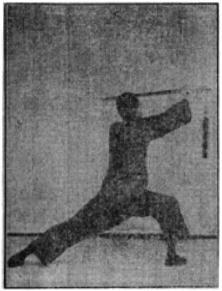 《昆吾劍譜》 李凌霄 (1935) - posture 53