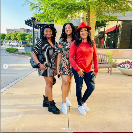 Actress Stella Damasus shares lovely photos with her grown-up daughters