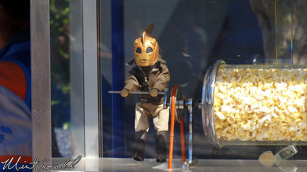 Disneyland, Tomorrowland, Popcorn, Rocketeer