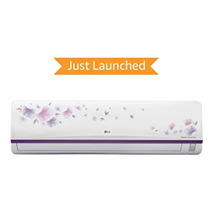 LG 1 Ton 3 Star Inverter Split AC (Alloy, JS-Q12AFXD, White) with standard installation at Rs. 499*