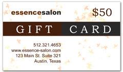 CPS-1006 - salon coupon card
