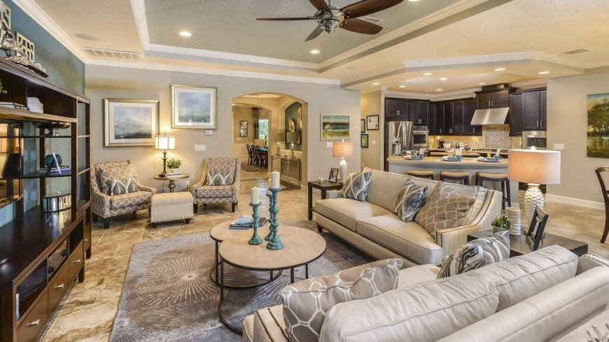 Cool Living Room Ceiling Fans For Home – Family Room Ceiling Fans ...