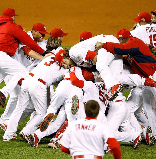 St. Louis Cardinals celebrate