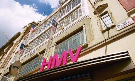 HMV on Oxford Street – the future for classical music hunters?