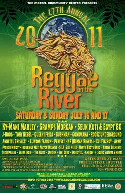 Reggae On The River 2011