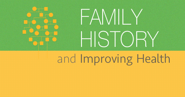 Family Health History Day. Family Health History and improving health.