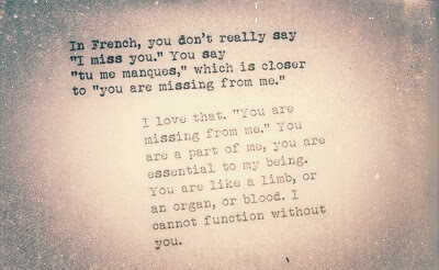 I Miss You French Quote