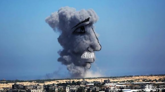 gaza pinturas bombardeos2