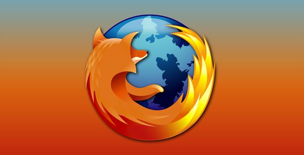 Mozilla logo header