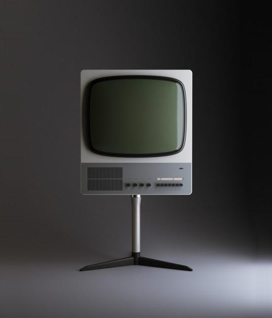 Dieter Rams FS80 Television Set