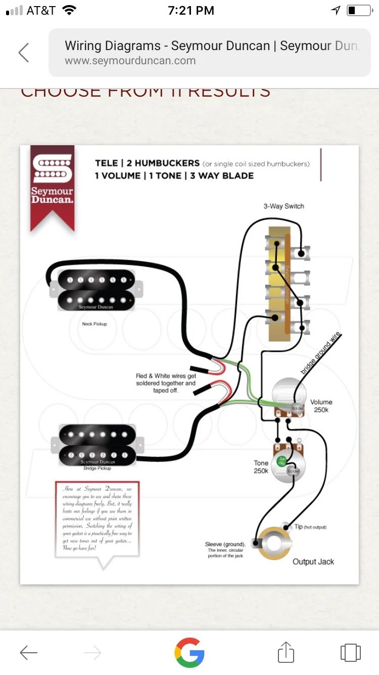 Jackson Pickups Wiring Diagram