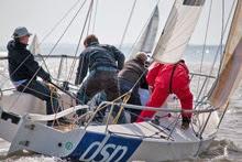 J/80 sailing Warsash Spring Series