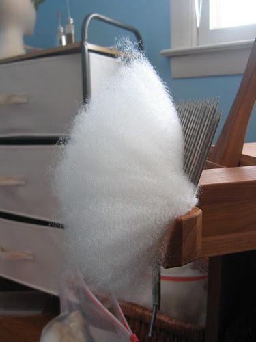 Combing Wool 5