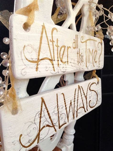 Wedding Quotes : To all the Harry Potter fans  2 sided