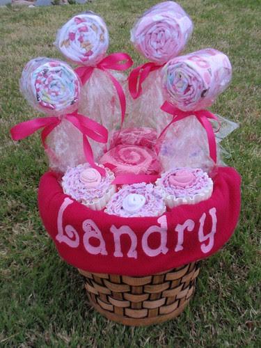 Finished Landry Gift Basket