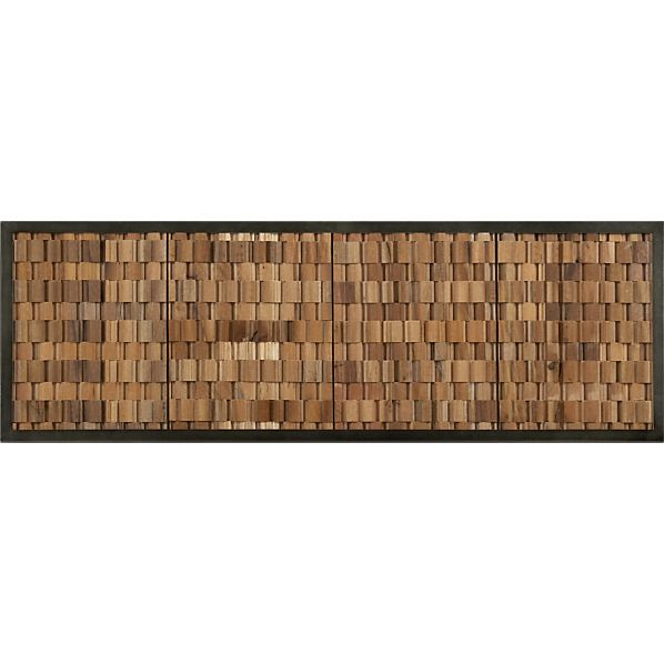 Attractive Wall Decoration And Reclaimed Wood Wall Art | ThemesCompany