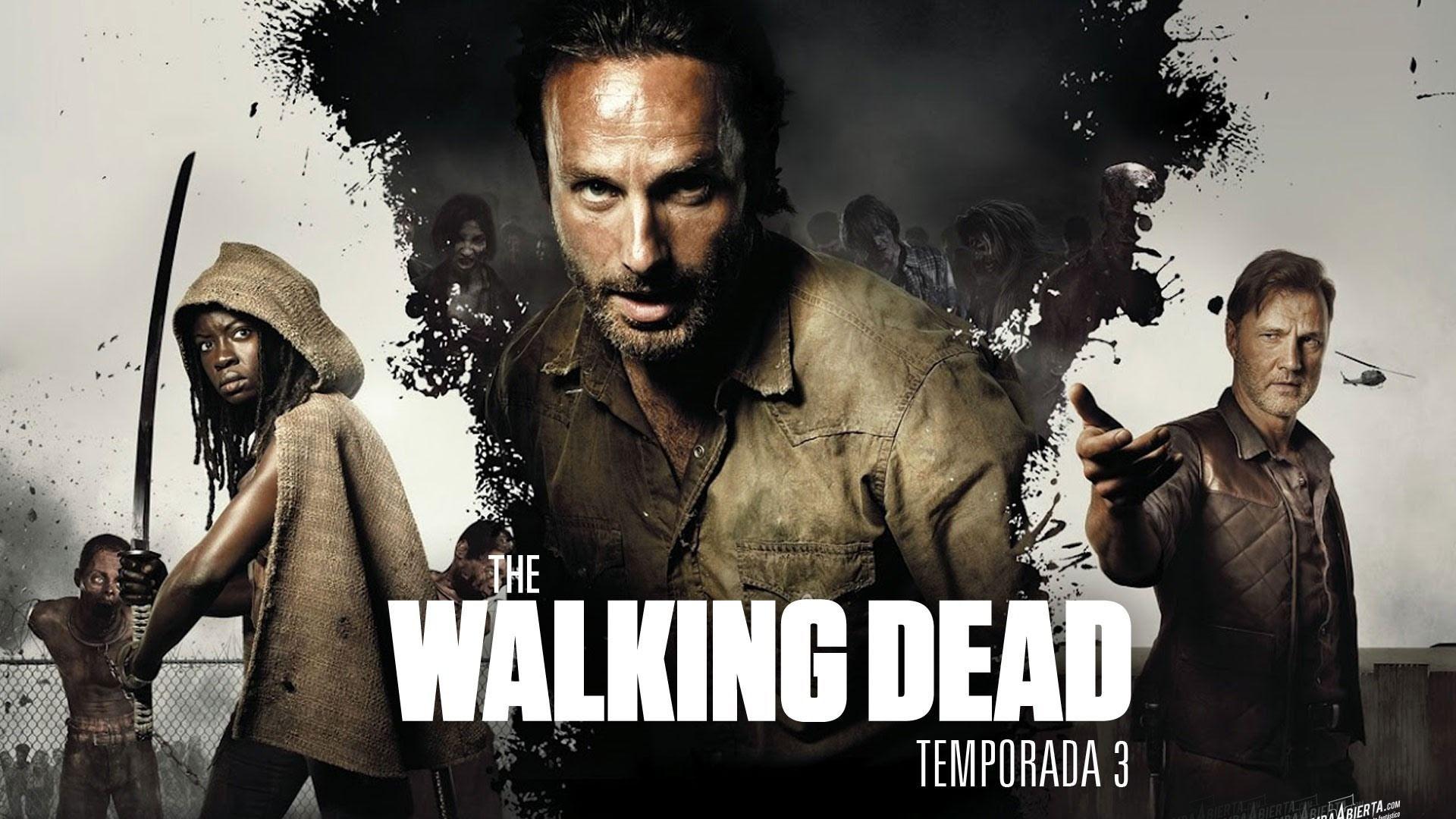 Download Wallpaper The Walking Dead Rick Grimes Carl 1920x1080