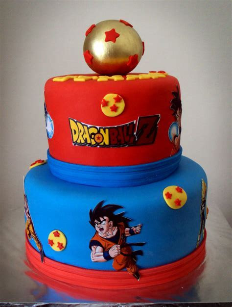 Delana's Cakes: Dragon Ball Z Cake