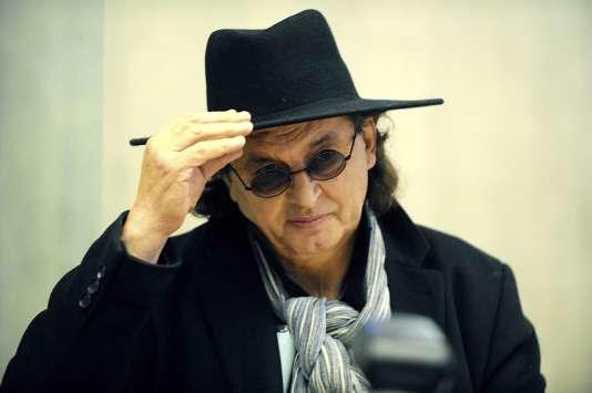 Marc Veyrat, le 27 novembre 2015, au tribunal à Annecy.