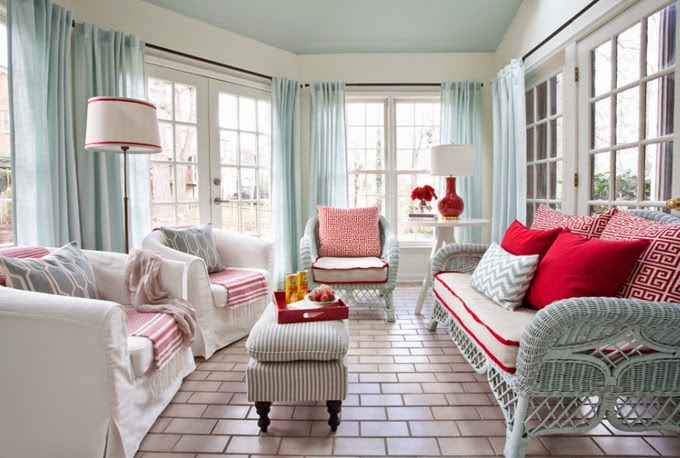 Colour school: How to decorate with hot pink and orange ...