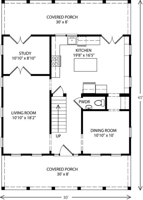 Center Hall Cottage - Cottage Living | Southern Living