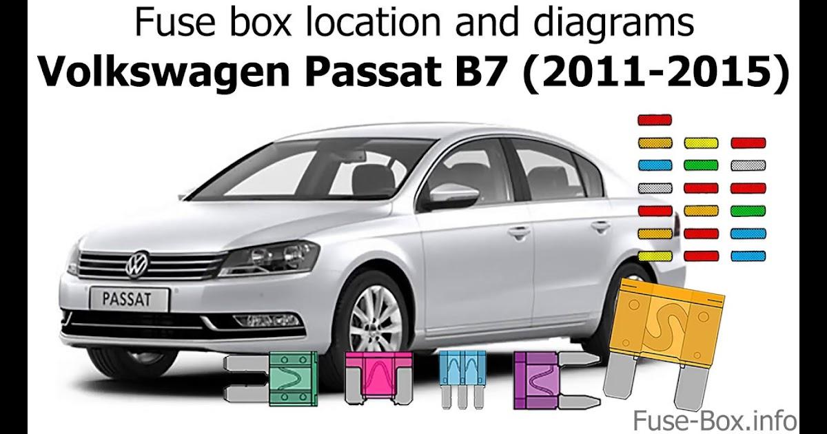 30 2012 Vw Passat Fuse Box Diagram