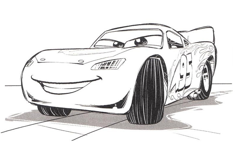 Cars 3 coloring pages to download and print for free