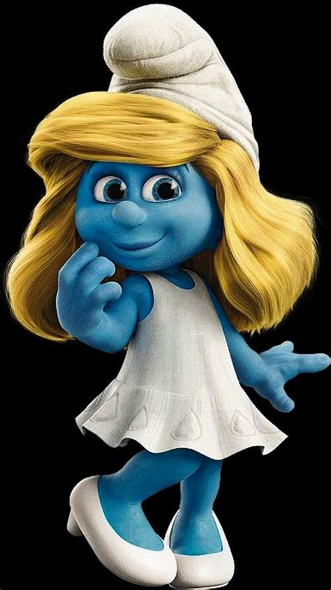 pin  lindie fourie  smurf smurfette smurfs cartoon