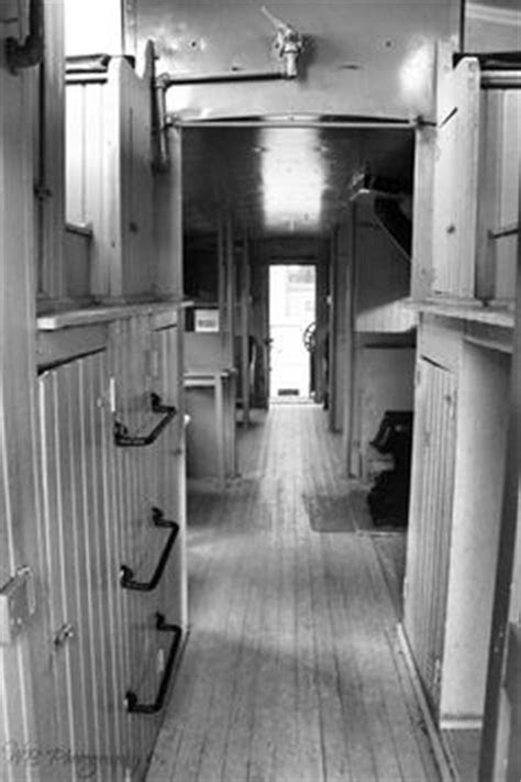 Caboose interior. There were many different designs and