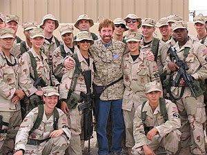 US Air Force 061029-f-8789C-041 Chuck Norris v...