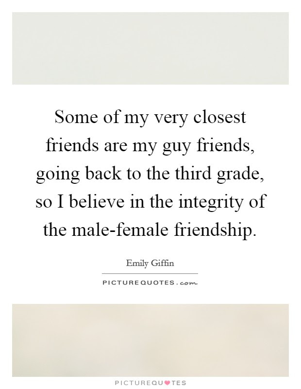 Male Female Friendship Quotes Sayings Male Female Friendship