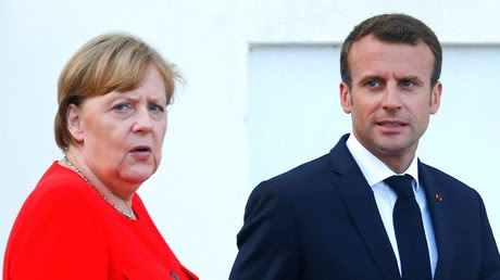 Support for Macron & Merkel's coalitions plunge to record new lows – polls