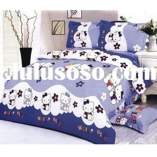 hello kitty bonjour comforter set in queen size, hello kitty ...