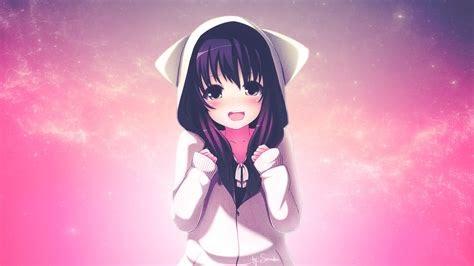 Anime Gamer Girl Wallpaper