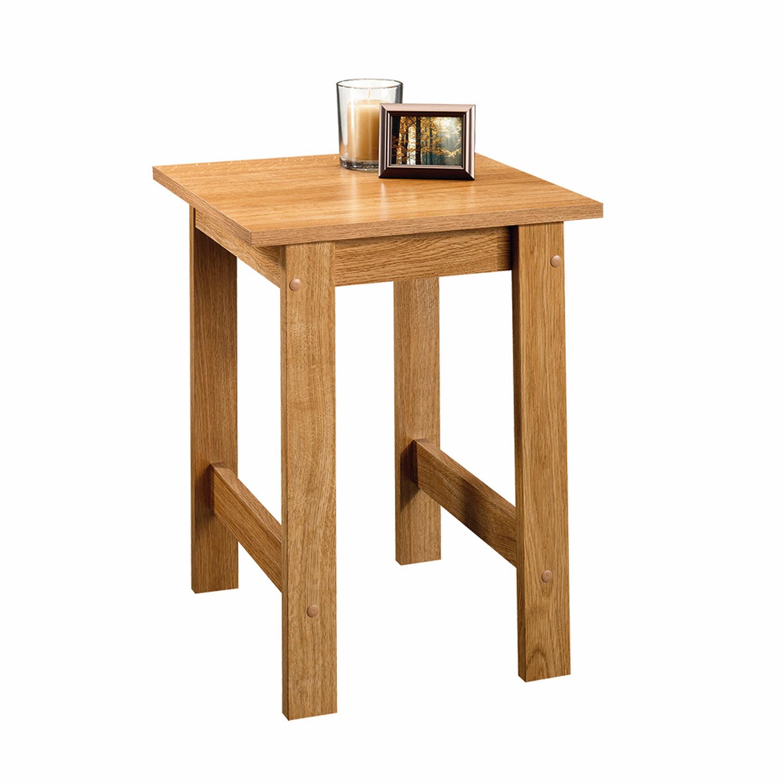 Sauder Beginnings Side Table - Highland Oak - Home ...