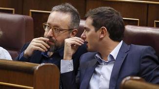 Girauta i Rivera, al Congrés dels Diputats (EFE)