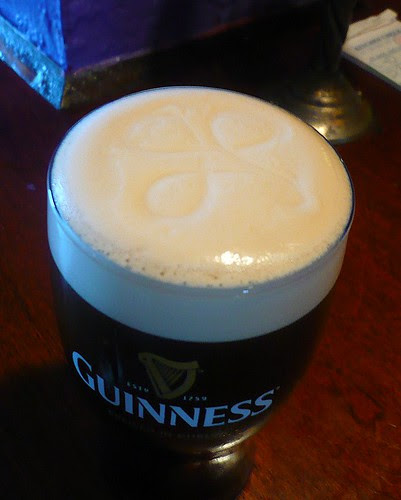 a Pint at the Celtic Ray