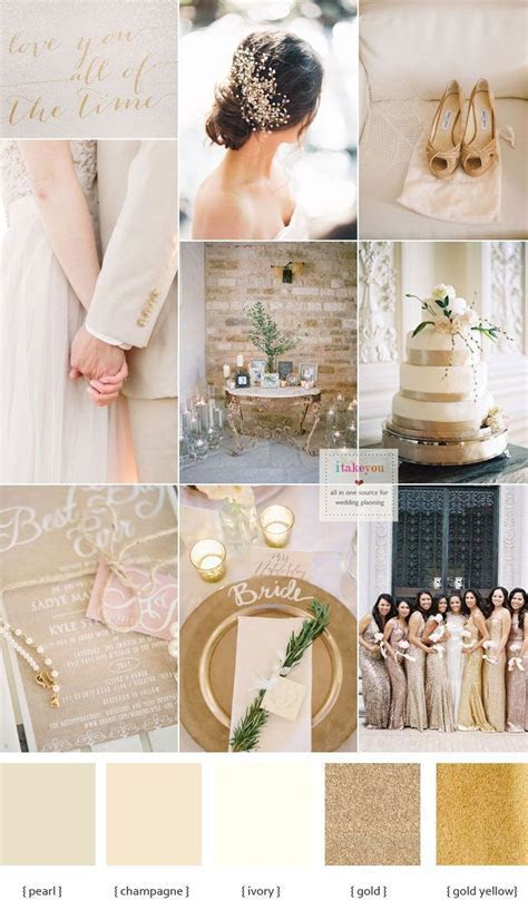 25  best ideas about Wedding Color Schemes on Pinterest