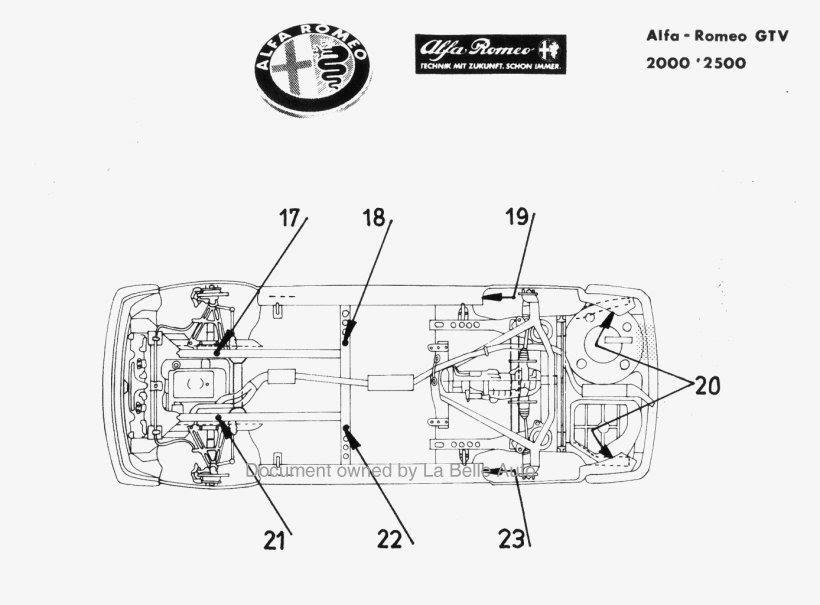 Alfa Romeo Engine Cooling Diagram