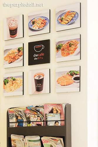 DW Cafe wall