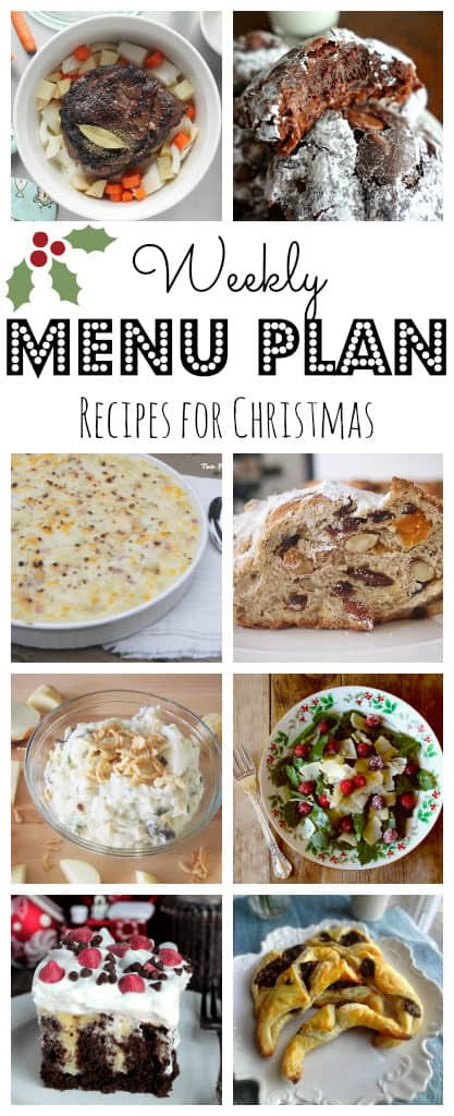 Meal Plan #42 Christmas-pinterest