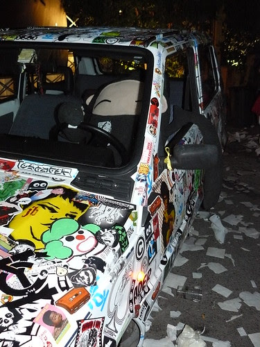 stick my car the show x (2) by OMINO71