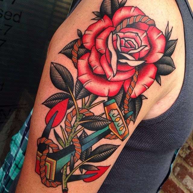 Top 55 Best Rose Tattoos For Men Improb