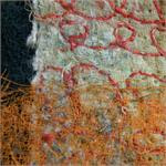 Orange scrim