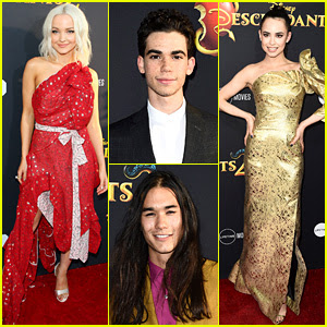 Dove Cameron, Sofia Carson, & Disney Channel's 'Descendants 2' Cast Premieres Movie in Hollywood!