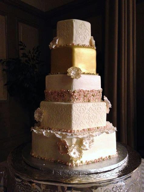 Best 25  Hexagon wedding cake ideas on Pinterest   Pastel