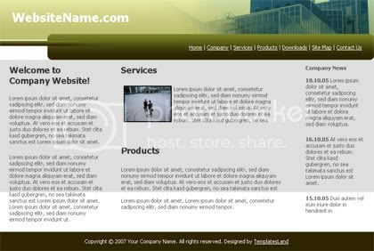 Building Corporate Company HTML Template