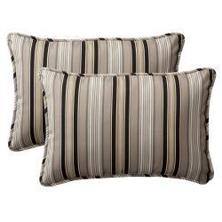 Black Outdoor Cushions & Pillows | Overstock.com Shopping - Big ...